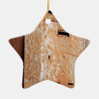 Mailbox rusty outdoors ceramic star decoration