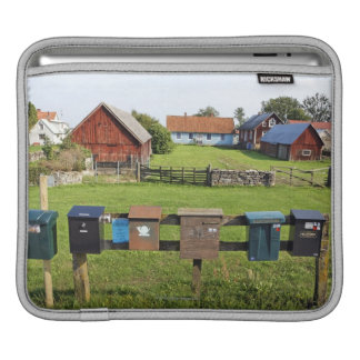 Mailboxes and Houses iPad Sleeve