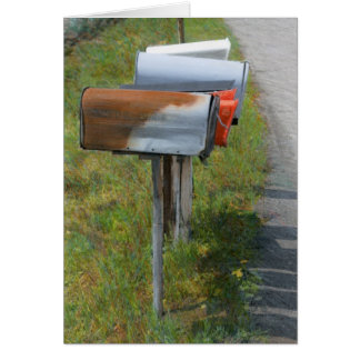 Mailboxes Card