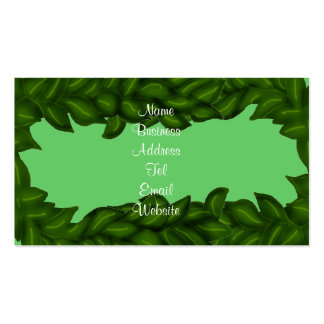 Maile Lei business cards