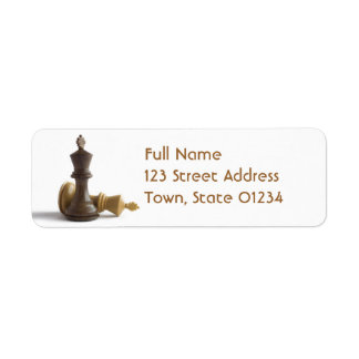 Mailing Label Template 1 - Customized Return Address Label