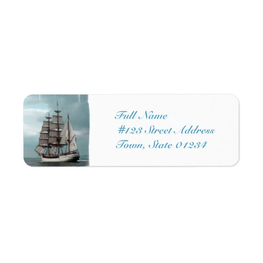 MailingLabel-5 - Customised Return Address Label