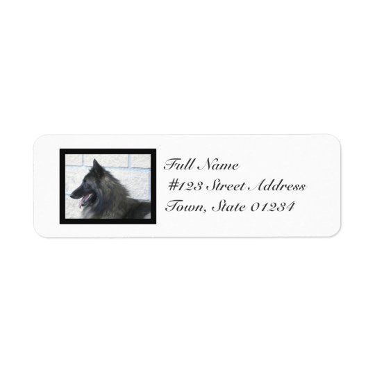 MailingLabel-5 - Customised Return Address Label