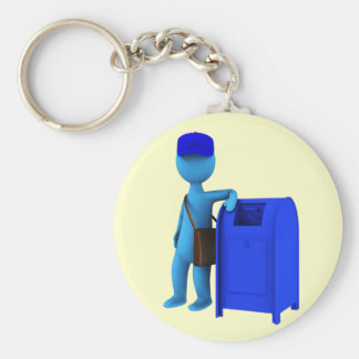 Mailman Key Ring