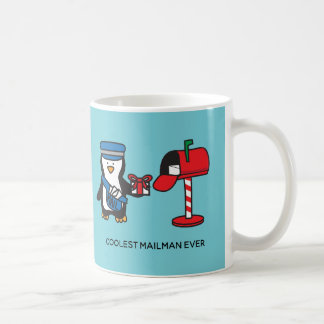 Mailman Mail Lady Postal Worker Post Office Gift Coffee Mug