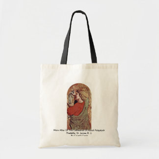 Main Altar Of The Cathedral Of Ascoli Polyptych Tote Bag