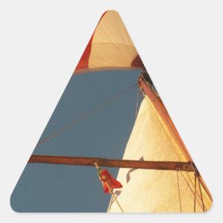 Main And Genoa Triangle Sticker