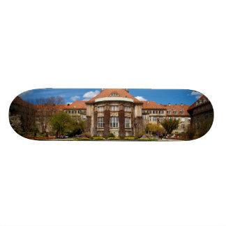 Main building Botanic Garden Munich Germany Skateboards