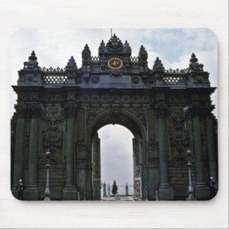 Main Entrance Gates, Dolmanbahce Palace - Istanbul Mousepad