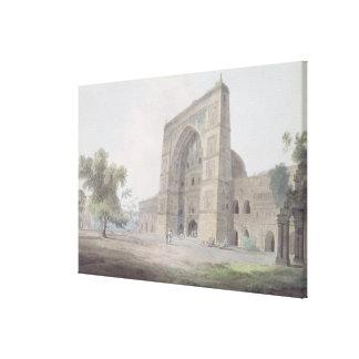 Main Entrance of the Jami Mosque, Jaunpur, 1789 (w Canvas Print