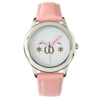 Main ji< Kaomoji >collection☆ Wristwatches