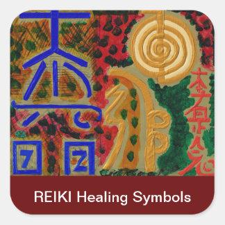 Main ReikiHealingArt Symbol Square Sticker