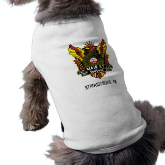 Main St. Jukebox Dog Shirt