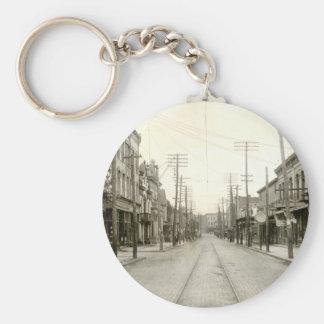 Main St. Nanticoke Pa. 1906 Key Ring