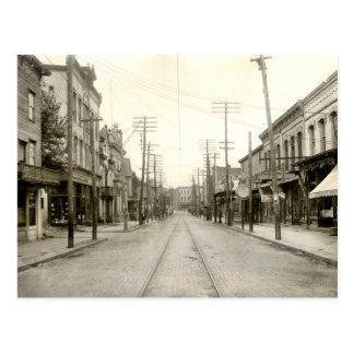 Main St. Nanticoke Pa. 1906 Postcard