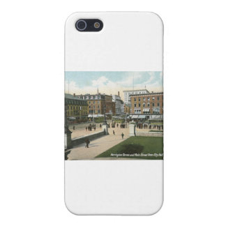 Main St Worcester MA 1910 Vintage iPhone 5 Cover