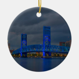 main street bridge Jacksonville FL Christmas Ornament