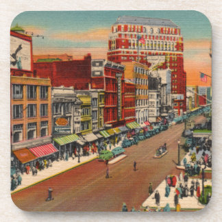Main Street - Buffalo, NY Vintage Coaster