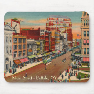 Main Street - Buffalo, NY Vintage Mousepad