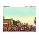 Main Street, Fredericksburg, TX Postcards