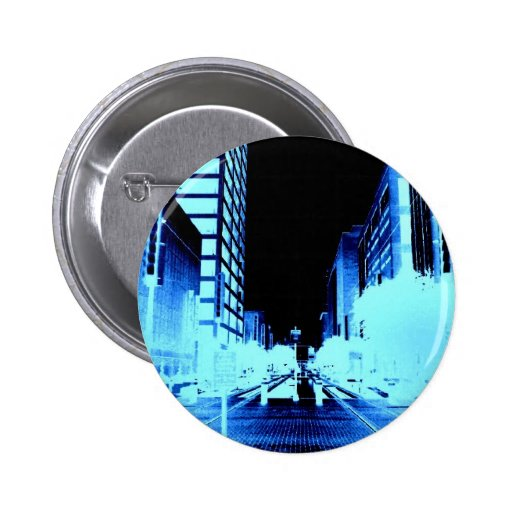 Main Street Houston Pinback Buttons