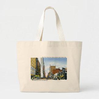 Main Street, Houston, Texas Tote Bags