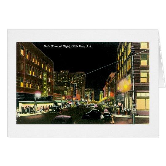 Main Street, Little Rock, Arkansas Card