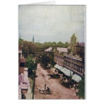 Main Street Mcminnville Tennessee 1910 Greeting Card