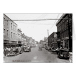 Main Street McMinnville Tennessee Circa 1935 Greeting Card