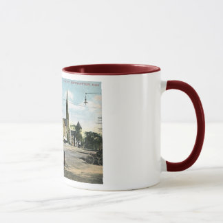 Main Street, Northampton, Massachusetts Vintage Mug