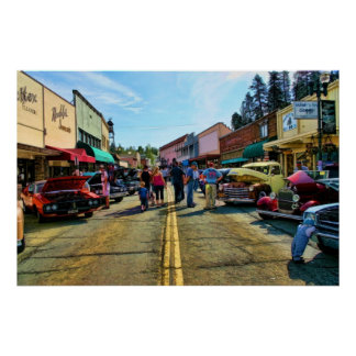 Main Street Placerville Poster