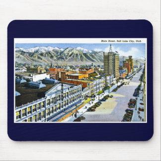 Main Street Salt Lake City Utah Mouse Pad