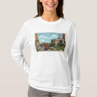 Main Street View of State Street & Old State T-Shirt