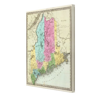 Maine 11 canvas print