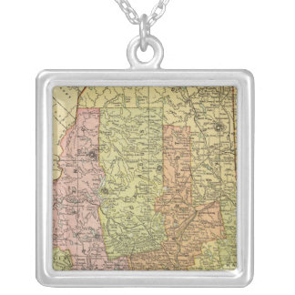 Maine 11 silver plated necklace