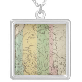 Maine 13 silver plated necklace