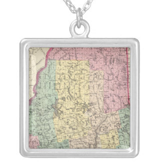 Maine 14 silver plated necklace