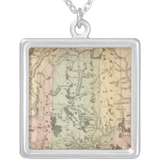 Maine 15 silver plated necklace