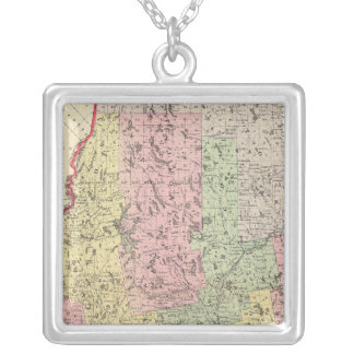Maine 16 silver plated necklace