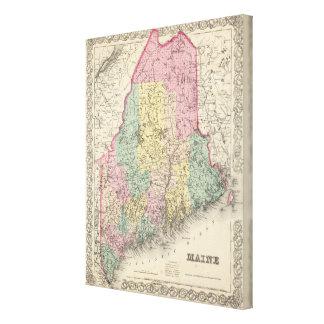 Maine 17 canvas print