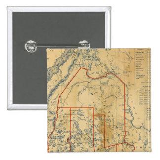 Maine 18 15 cm square badge