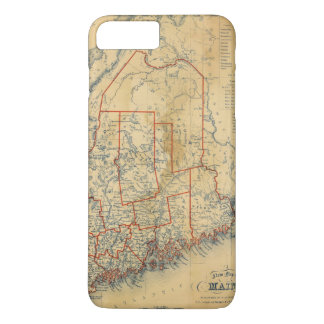 Maine 18 iPhone 8 plus/7 plus case