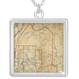 Maine 18 silver plated necklace