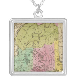 Maine 19 silver plated necklace