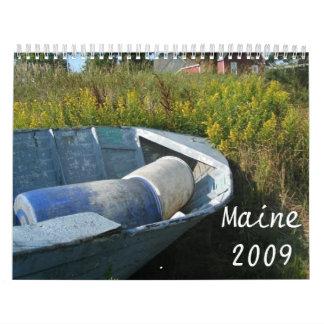 Maine 2009 wall calendar