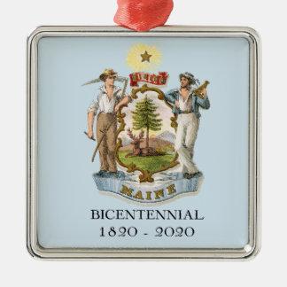 Maine 200 Bicentennial Christmas Ornament