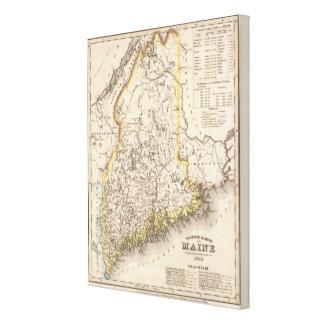 Maine 3 canvas print