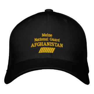 Maine 48 MONTH COMBAT TOUR Embroidered Hat