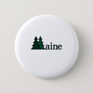Maine 6 Cm Round Badge