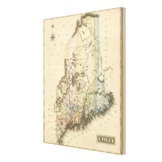 Maine 7 canvas print